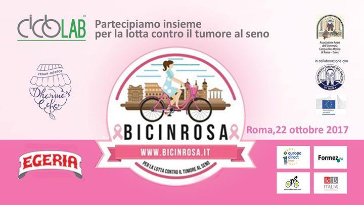 bici in rosa banner