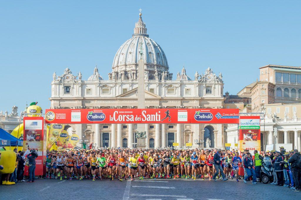 La corsa dei santi
