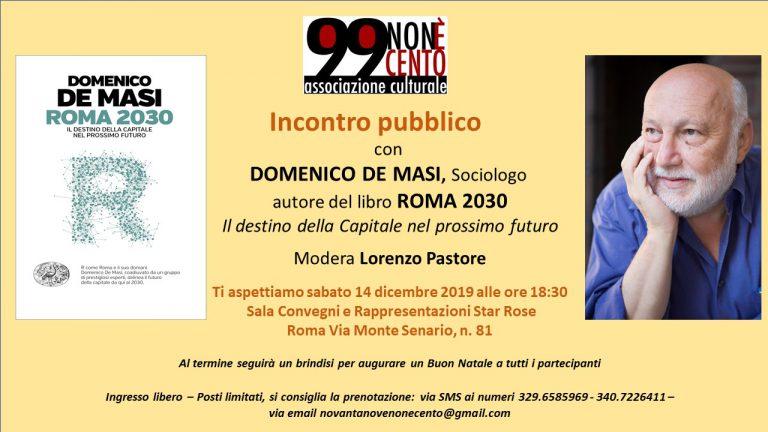 99 non e 100 Locandina Roma 2030