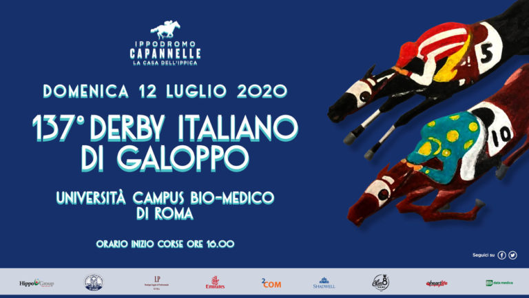 137 Derby Galoppo capannelle 2020