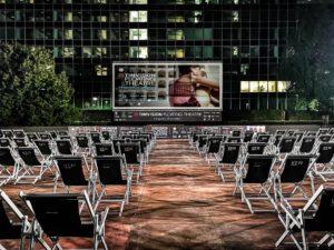Sarà il regista premio Oscar Oliver Stone ad inaugurare l'arena galleggiante di Roma
