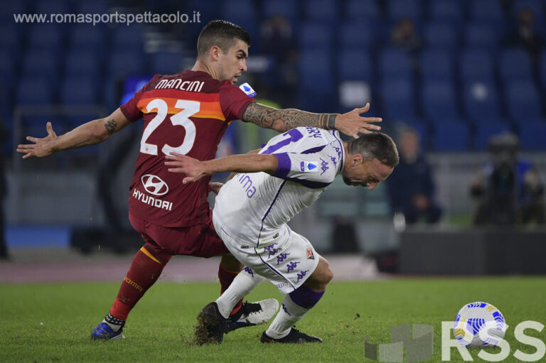 Gianluca Mancini AS Roma