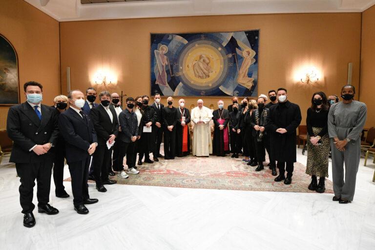 28 concerto di Natale. gli artisti ricevuti dal Papa