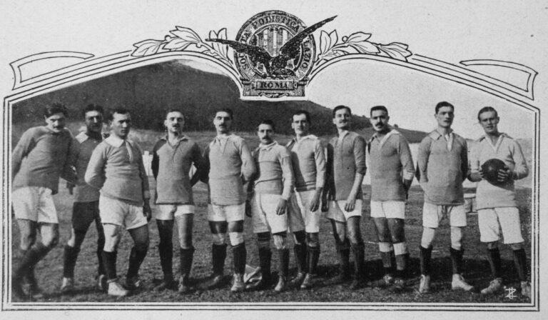 2. La squadra della Lazio campione del Centro-sud 1913