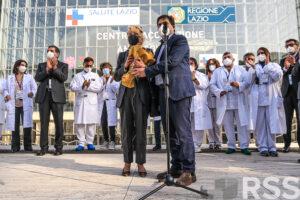Inaugurato oggi a Roma il centro vaccinale presso La Nuvola di Fuksas