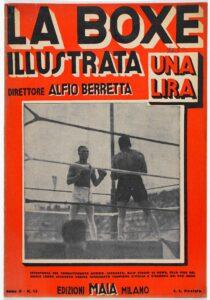 La copertina de La Boxe Illustrata. Archivio privato