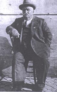 La mole rotonda di zi' Checco negli anni '30