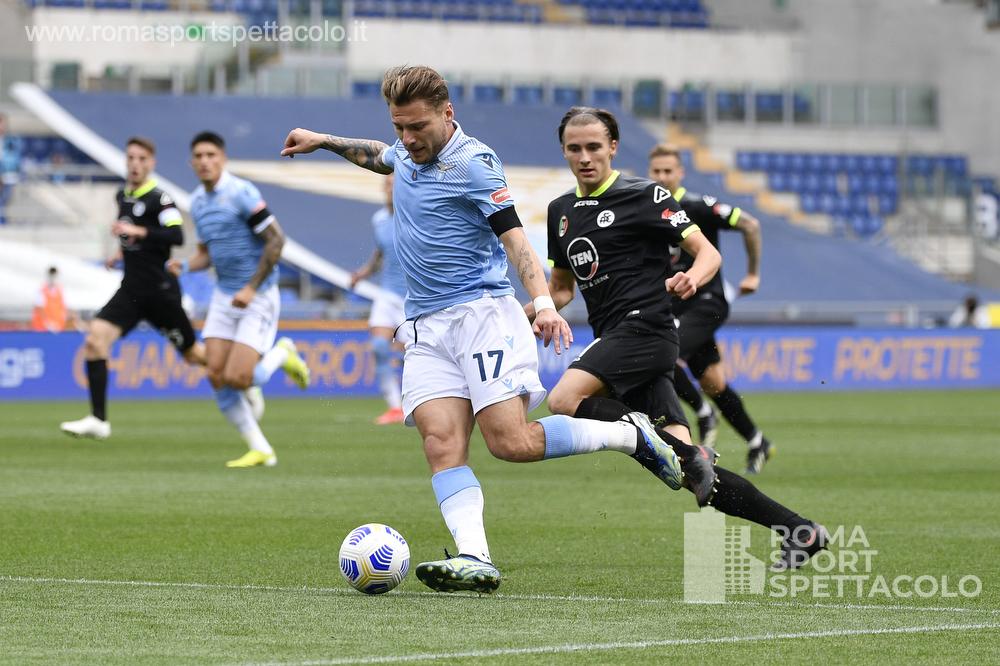 Lazio Spezia 3 aprile 2021