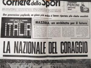 Europei 1968, la nazionale italiana di calcio del coraggio