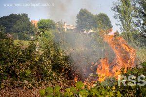 Case lambite dalle fiamme