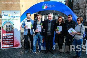 Firmato il protocollo di intesa tra Regione Lazio ed il Coni Lazio per lo sport