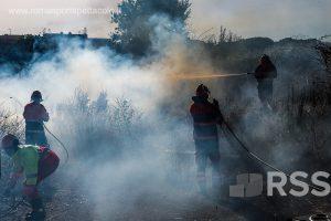 Il quadrante nord est di Roma ancora in ostaggio delle fiamme