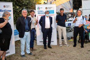 Inaugurato il Villaggio dello Sport del Coni Lazio al Cinevillage Talenti