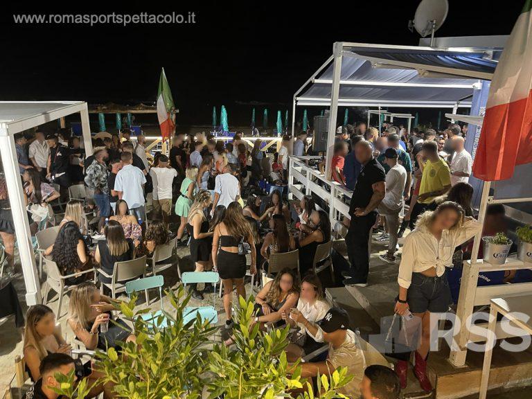 Locali notturni sul litorale romano
