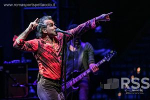 Piero Pelù sbarca tra i suoi ragazzacci all'Auditorium Parco della Musica