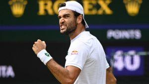 Nulla da fare per Matteo Berrettini. La prima finale di Wimbledon è comunque nella storia