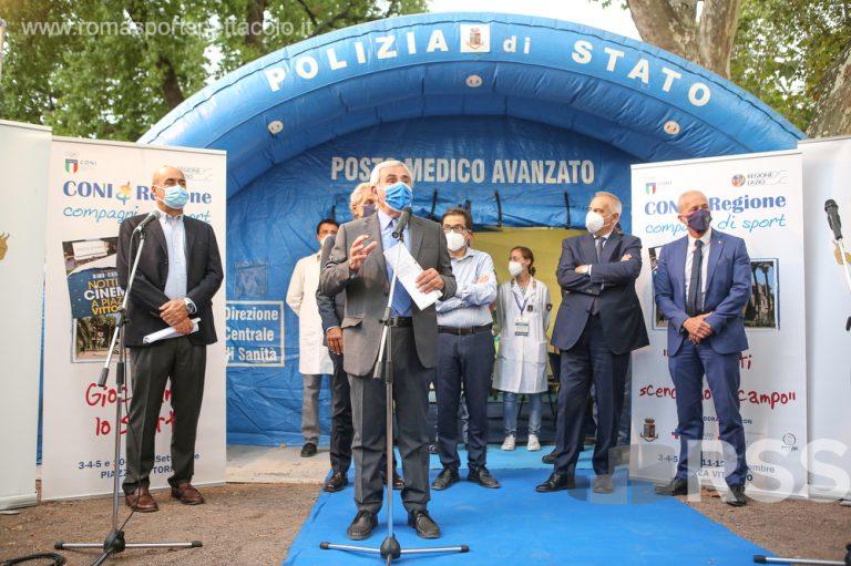 Coni Lazio - Piazza Vittorio 2021