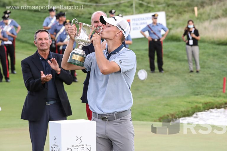Golf - Nicolai Hojgaard vincitore degli Open D'Italia