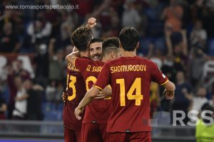 Roma – CSKA 5-1. Pellegrini illumina la via di Mou in Europa