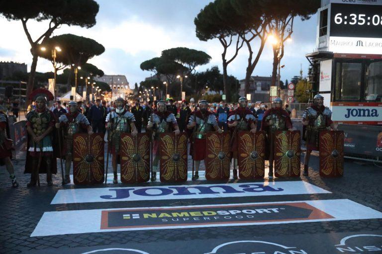 Partenza Maratona di Roma 2021