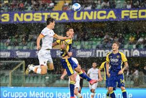 Verona-Roma 3-2. Crolla Mou, gode Tudor con capolavoro di Faraoni