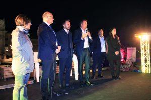 Casini e Leoncini festeggiano e sostengono Gualtieri