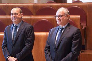 Gualtieri e Zingaretti firmano il patto per Roma