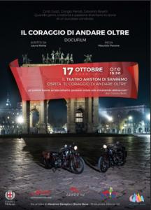 """Oggi, al Teatro Ariston di Sanremo, il docufilm """"Il Coraggio di Andare Oltre"""", tutta la storia di Guzzi"""
